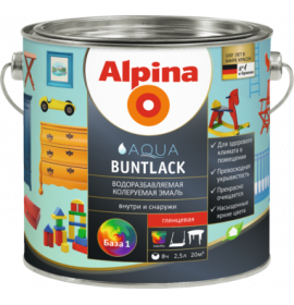 Alpina Aqua Buntlack 0.75l